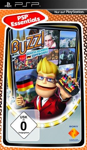 Buzz!: Deutschlands Superquiz [Essentials] - [Sony PSP]