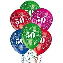 Amazon It Palloncini 50 Anni Compleanno 1 Stella E Più