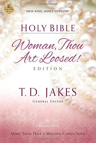 NKJV, Woman Thou Art Loosed, Hardcover, Red Letter Edition: Holy Bible, New...