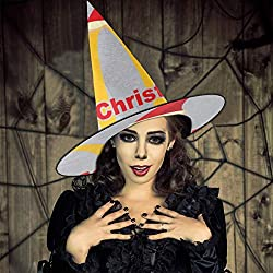 AISFGBJ McChristmas Mc Donalds Logo Hexenhut Halloween Unisex Kostüm für Urlaub Halloween Weihnachten Karneval Party