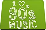 Best Mouse Pad 80s Musics - Hippowarehouse I love 80's music printed mouse mat Review