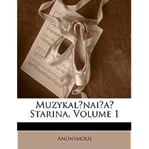 Muzykalnaia Starina, Volume 1