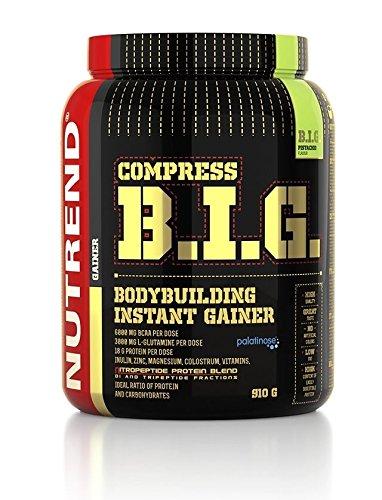 8699ad921f Nutrend COMPRESS BIG 2100G Strawberry prima Flavor GAINER nutrientes de  alta proteínas para el crecimiento muscular