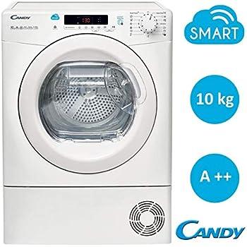 44e292aa4395 Candy CS H10A2DE-S Asciugatrice a pompa di calore (Carico frontale 10kg  A++), Bianco
