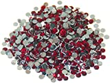 Pack of 1000 x Red Crystal Flat Back Rhinestone Diamante Gems 5mm