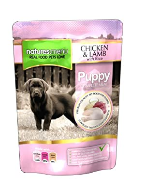 Natures Menu Puppy/Junior Pouch 8x300gm(Product packaging may vary )