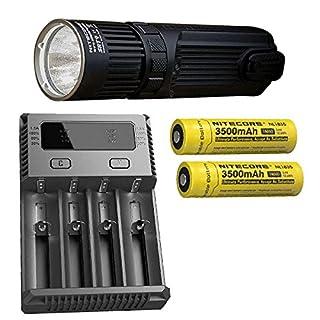 Combo: Nitecore SRT9 Flashlight -2150 Lumens w/2x NL1835 Battery & I4 Charger