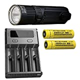 Combo: Nitecore SRT9 Flashlight -2150 Lumens w/2x NL1835 Battery & I4 Charger