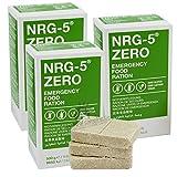 Notverpflegung 3x NRG-5 ZERO Glutenfrei Survival 500g Notration Notvorsorge | 3x9 Riegel Survivalnahrung...