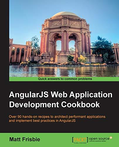 AngularJS Web Application Development Cookbook (English Edition)