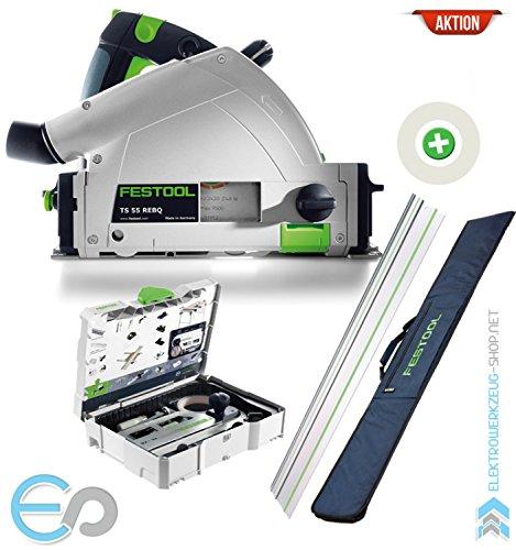 Preisvergleich Produktbild Festool AKTION: Tauchsäge TS 55 REBQ-Plus-FS | 561580A