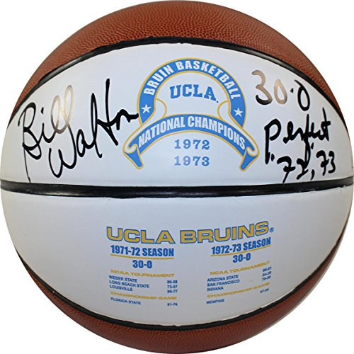 UCLA College NCAA Traditioneller Maler Bruins Bill Walton UCLA College unterzeichnet Traditioneller Maler 1972und 1973National Basketball mit