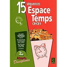 15 séquences Espace Temps CP CE1 (1Cédérom)