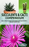 SUCCULENTS & CACTI COMPENDIUM: The ultimate guide to growing your succulents and cacti + indoor plants tips