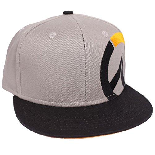 Overwatch Snapback Cap - Classic Logo Grau