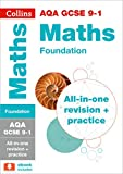 GCSE Maths Grade 9-1 AQA Foundation Complete Practice and Revision Guide with free online Q&A flashcard download (Collins GCSE 9-1 Revision)