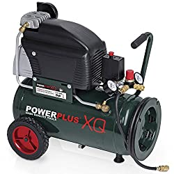 POW XQ8105 Elektro Kompressor 10bar, 24-Liter-Tank