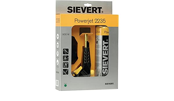 Sievert Powerjet Gas Torch PRM2235: Amazon co uk: Electronics