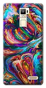 Mott2 Back Case for Oppo R7 Plus | Oppo R7 PlusBack Cover | Oppo R7 Plus Back Case - Printed Designer Hard Plastic Case - tiles and denim design theme