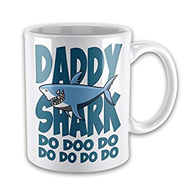 Daddy Shark Do Doo Do Funny Novelty Gift Mug