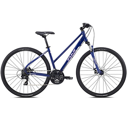 28 Zoll Crossrad Fuji Traverse 1.9 ST Cross Terrain Damen MTB Mountainbike, Rahmengrösse:48 cm, Farbe:DARK BLUE