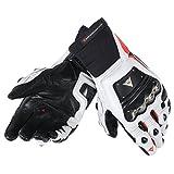 Dainese-RACE PRO IN Handschuhe, Schwarz/Fluo-Rot/Weiss, Größe XL