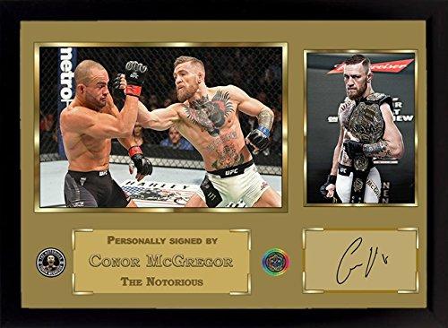Conor McGregor UFC MMA signed autograph sport Boxing Memorabilia With Frame 002
