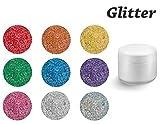 Colaxy *PREMIUM* Farbgele 5ml - GLITTER - GL95 Purple Glitter