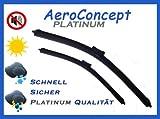 2 Stueck PLATINUM Scheibenwischer SET 700 / 400 mm Wischerblaetter AERO PLATINUM EDITION - NEU - MS2