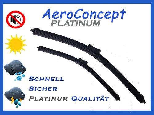 WiperBlade - MS Scheibenwischer-1 Scheibenwischer Set 600 / 450 mm, 2 Stücke