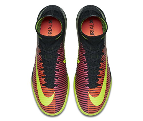Nike Mercurialx Proximo Ii Tf, Scarpe da Calcio Uomo Arancione (Naranja (Total Crimson / Vlt-Pnk Blst-Blk))