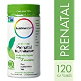 Rainbow Light - Certified Organics Prenatal Multivitamines 120 Capsules Végétales