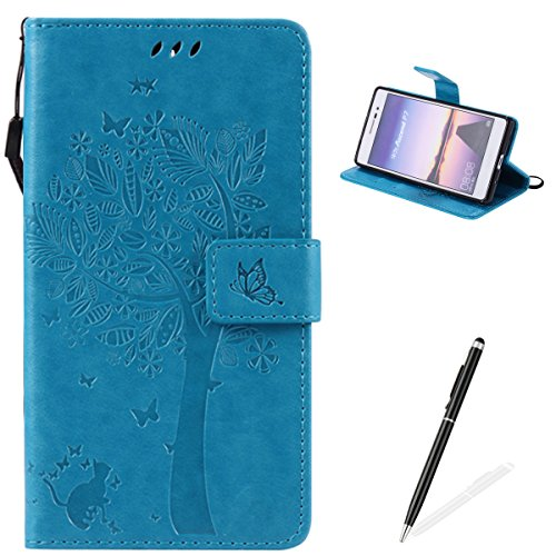 huawei-ascend-p7-casefeeltech-embossed-tree-cat-butterfly-flower-pattern-design-stylus-pen-for-huawe
