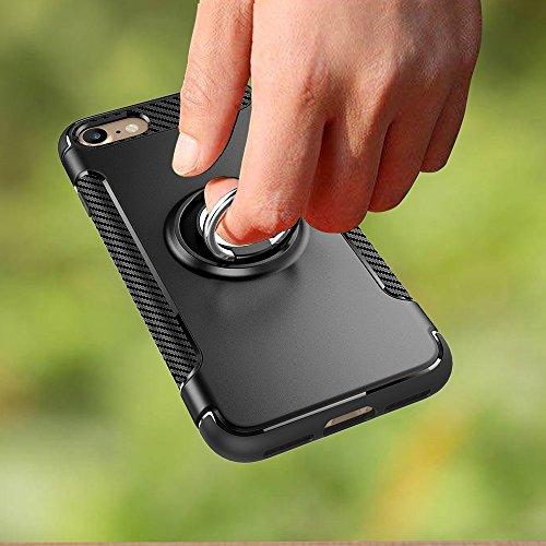 GHC Cases & Covers, Für iPhone 7 & 6s & 6, Samsung Galaxy S7, Huawei P9, Xiaomi Redmi 3, Sony Xperia Z3, Universal Litchi Texture Vertikale Flip Upright Gitter PU Ledertasche / Taille Tasche mit zurüc Black