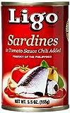 Ligo Sardinelle in Salsa di Pomodoro con Peperoncino - 155 gr
