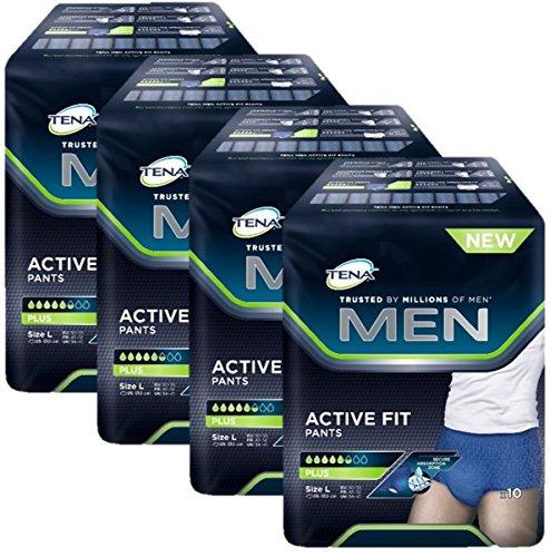 TENA MEN Active Fit Pants Plus L 40 St