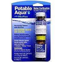 Potable aguamarina tabletas de purificación de agua con Pa Plus