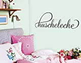 Wandtattoo No.SF378 Kuschelecke Kuschelecke Sofa Bett gemütlich liegen, Farbe:Dunkelrot;Größe:21cm x 60cm