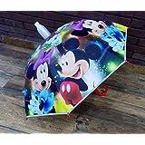 BOXO Folding Umbrella for Kids Boys and Girls, Umbrella for Rainy Season, Multi Color, 30 Grams, Pack of 1