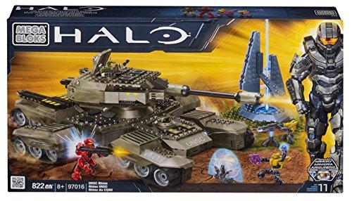Mega Bloks 97016 - Halo UNSC Rhino (Waffen Halo-action-figuren)