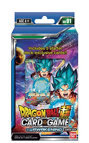 DRAGON BALL SUPER CARD GAME THE AWAKENING