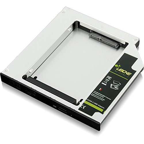 LEICKE FA00108 Netzteil 2 HDD/SSD-Festplattenadapter