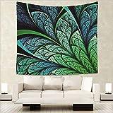 Baisheng Indian Mandala Wandbehang Tapisserie Hippie Wandteppiche Bettwäsche Tagesdecke, Picknick Strand Blatt, Tischdecke, dekorative Wandbehang (Blume geometrie2-59x66 Inch/150x170 cm)