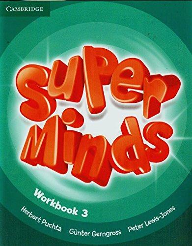Super minds. Workbook. Per la Scuola elementare. Con espansione online: Super Minds  3 Workbook