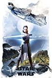 Erik® - Poster Star Wars Viii Rey - Papier Glacé - 91x61cm