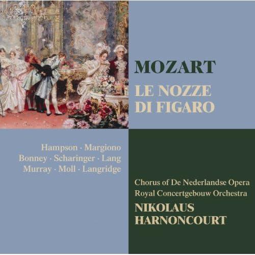 """Le nozze di Figaro : Act 4 """"Pian, pianin"""" [Cherubino, La Contessa, Il Conte, Susanna, Figaro]"""