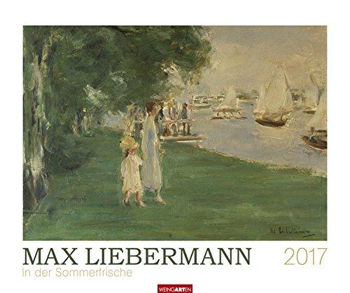 max-liebermann-in-der-sommerfrische-kalender-2017-weingarten-verlag-kunstkalender-wandkalender-55-cm