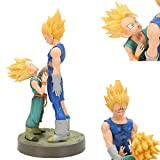 CYRAN Dragon Ball Z Vegeta e Trunks Figura Figura Azione Anime Super Saiyan Toy per bambini