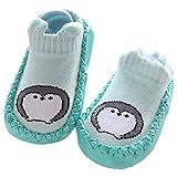ARAUS Babysocke Boden Socken Rutschfeste Ledersohlen Anti-Slip Schuhe-Premium Weich Leder Jungen Babyschuhe Mädchen Stiefel Slipper Schuhe 0-36 Monate