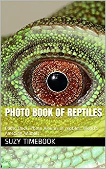 Photo Book of Reptiles: Photo Book, Photo Albums of reptiles. World's Amazing Animals (English Edition) par [Timebook, Suzy]